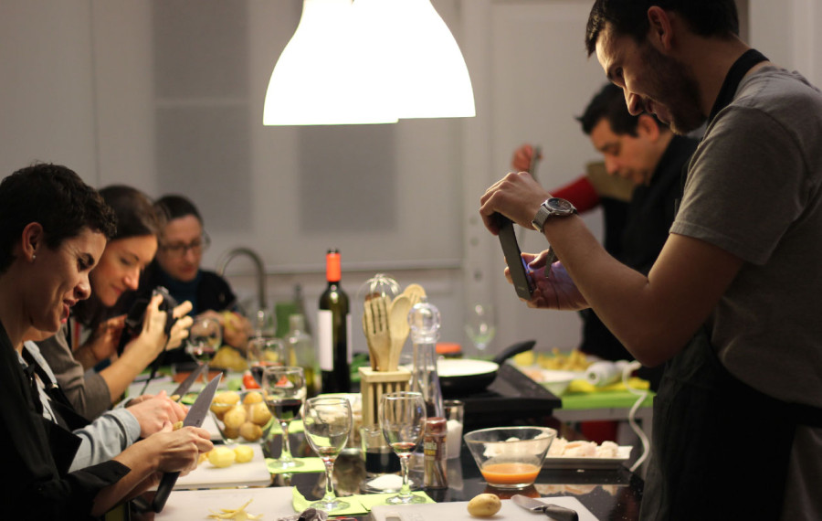 la cocina como estrategia de team building just royal bcn